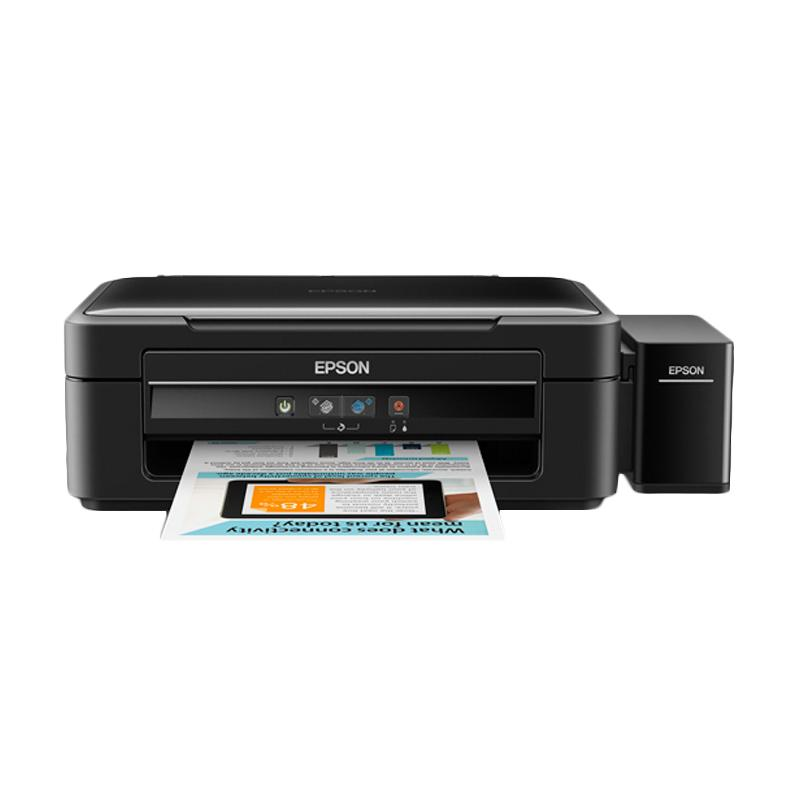Epson L360 Hitam Printer [Print/Scan/Copy]