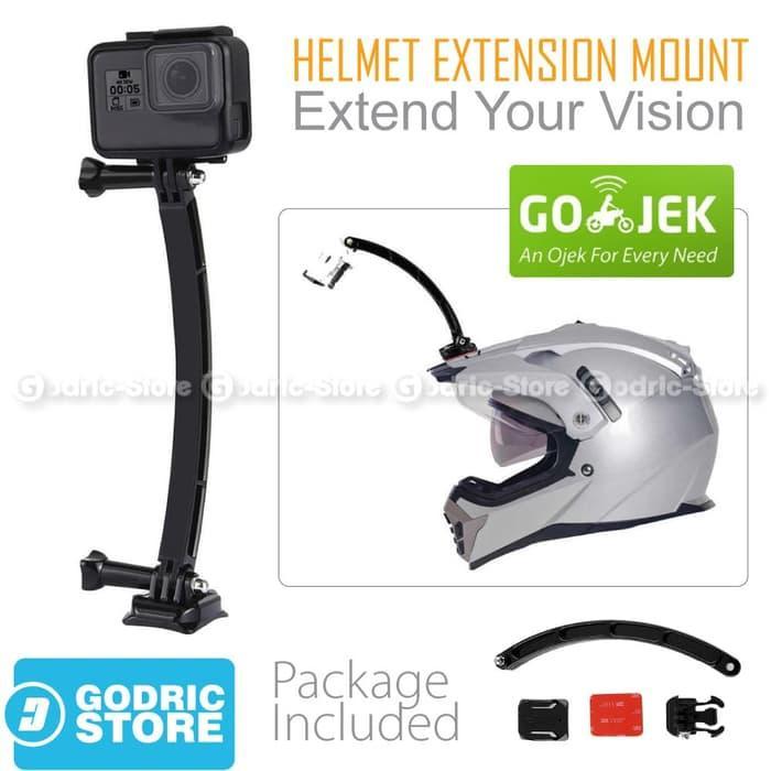 GoPro Helmet Extension Arm Kit for GOPRO, BRICA B-PRO & Xiaomi Yi Camera