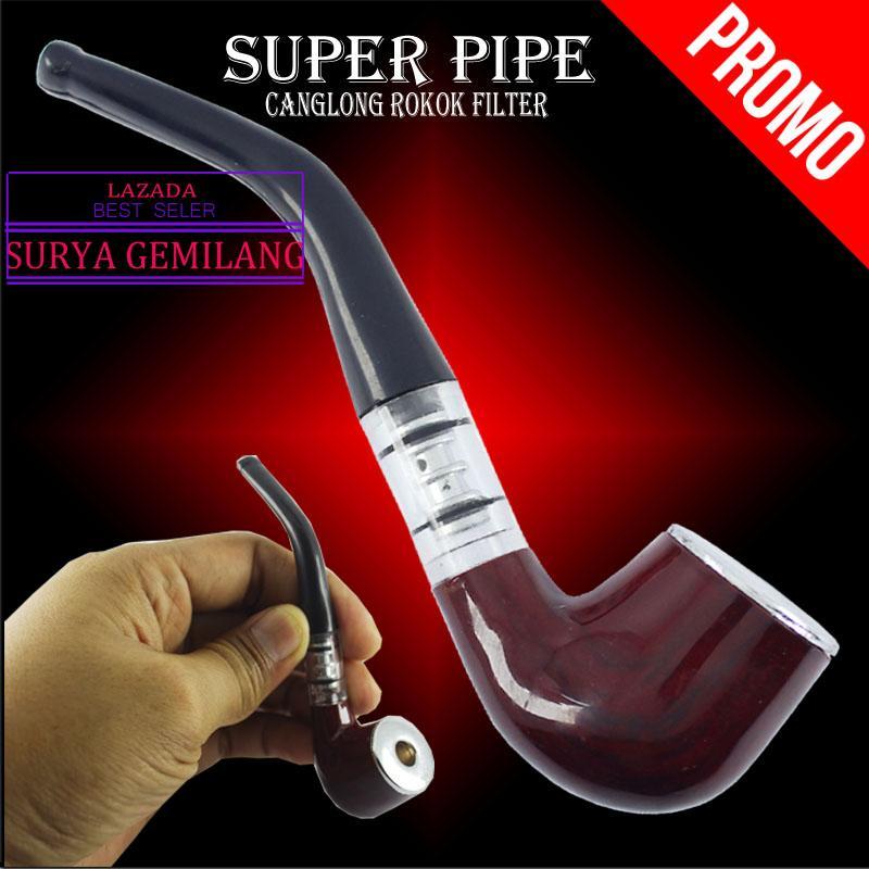 Super Pipe Pipa Rokok Filter / Pipa HAJOJUE Penyaring dan penyambung Rokok Filter