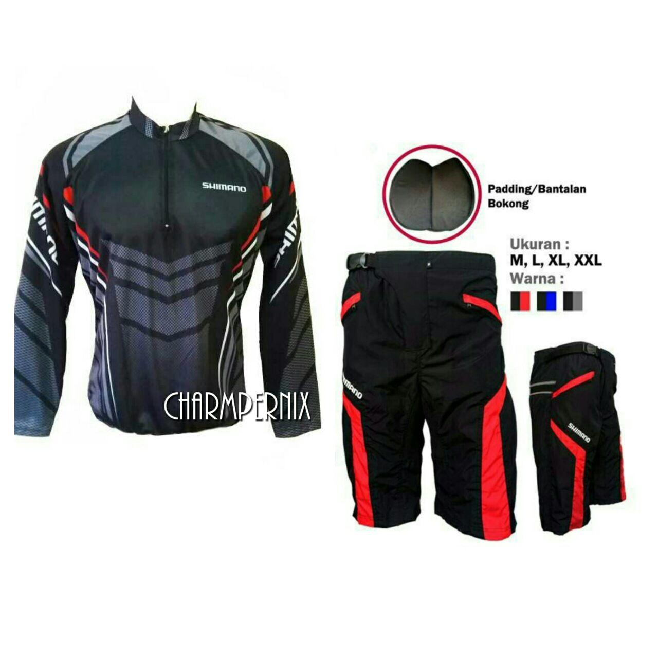 Baju Jersey Sepeda Goweser XC Plus Celana Padding Sepeda Terlaris