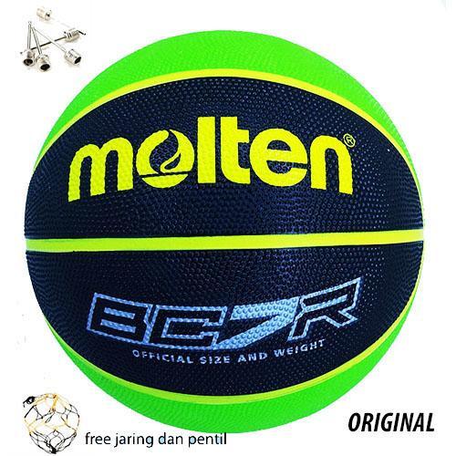Bola Basket Molten Bc7r Original (karet)/bola Basket Murah By J&r.