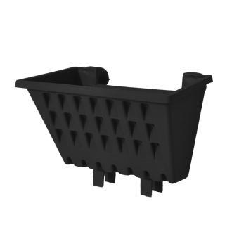 Cheapest Price Jirifarm Pot Argo / Pot Hias 02 Hitam Uk. 25x13x12 cm sale -