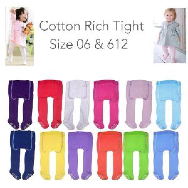 Cotton Rich Legging bayi polos warna celana panjang tutup kaki bayi import