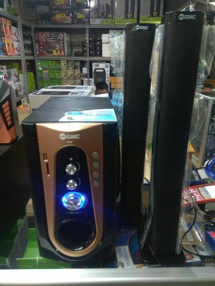 Referensi SPEAKER GMC 886P NEW SOUNDS EXTRA BOOST BLUETOOTH WIRELESS speaker aktif / speaker laptop / speaker super bass