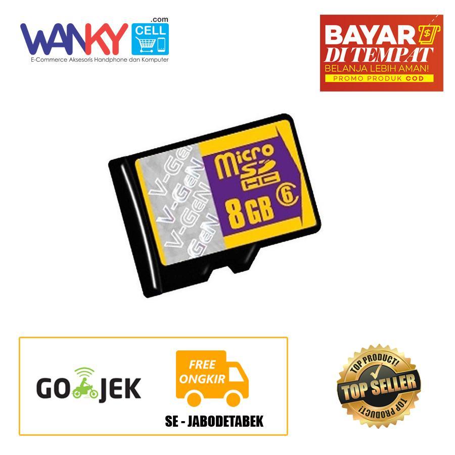 Harga Micro Sd Vgen Hyper 64 Gb Termurah November 2018 8gb V Gen Memory Card Sdhc Class 6 Non Adapter