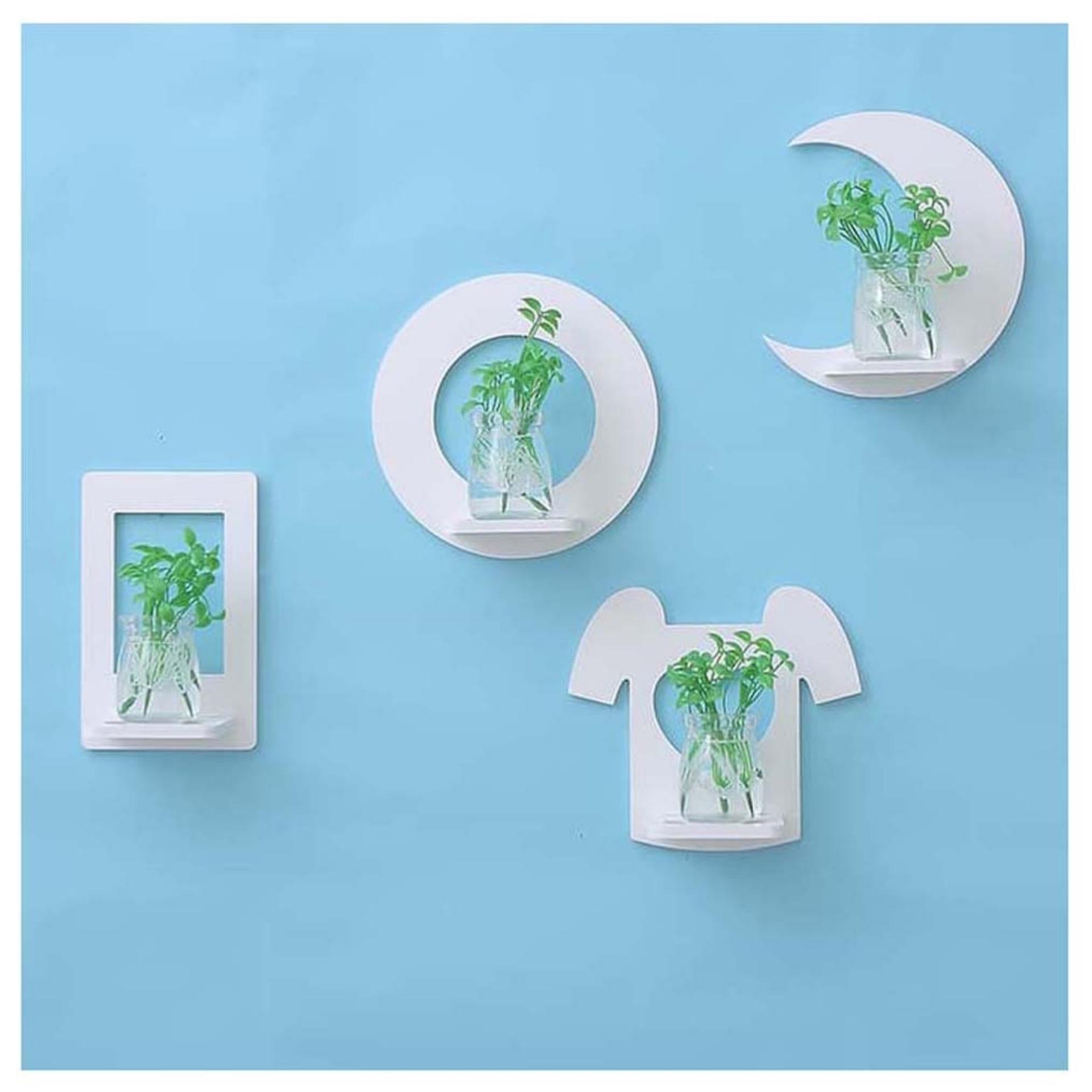 Harga 1 Set Isi 2 Pcs Clothes Rak Hias Hiasan Dinding Spt Ikea Kayu Kecil Minimalis