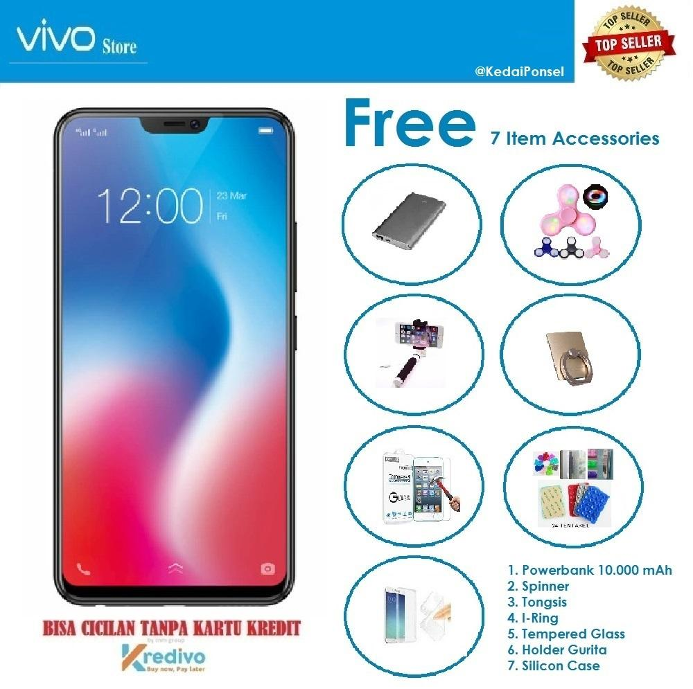 VIVO V9 [4/64GB] + Free 7 Item Accessories