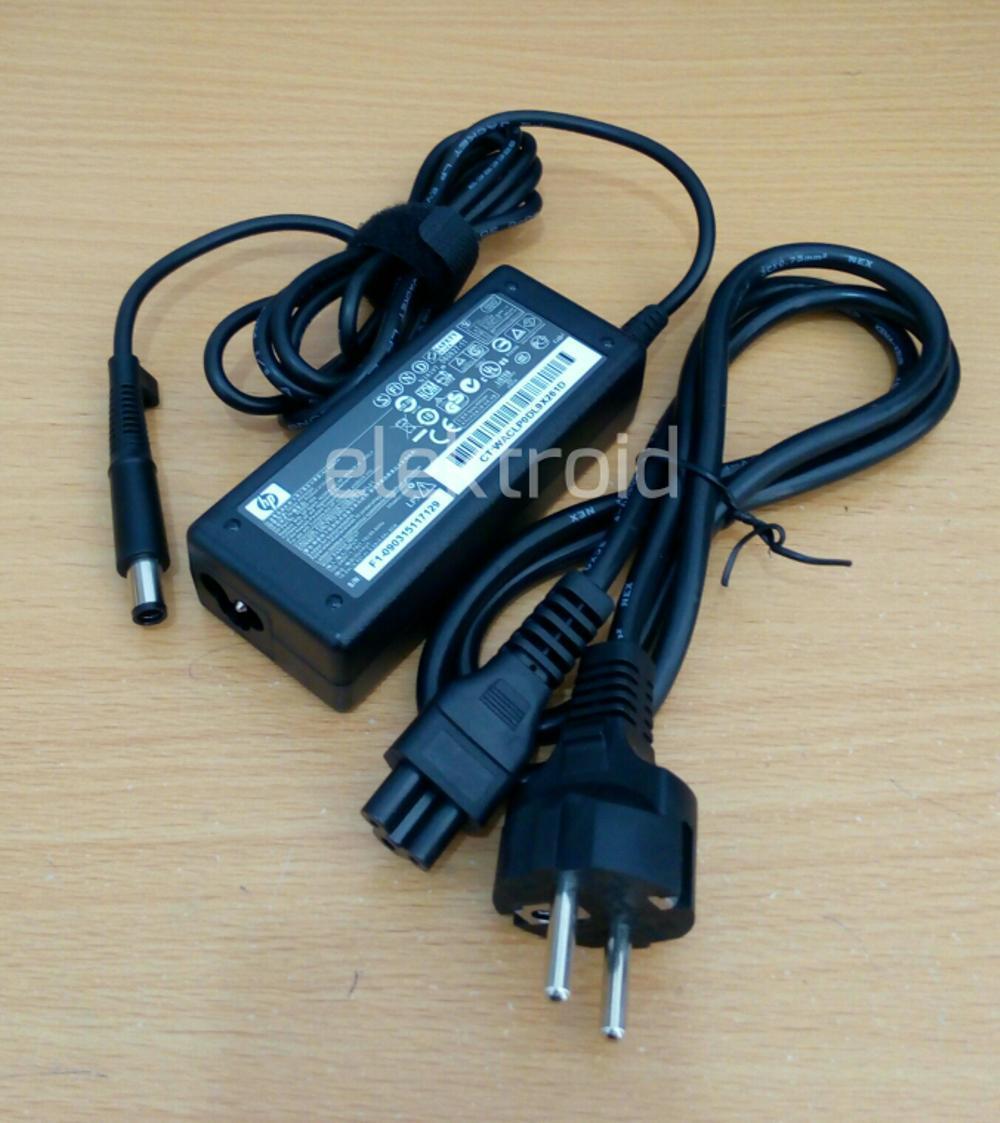 Adaptor Laptop Hp Compaq Original Cq40 Cq41 Cq42 (18.5v 3.5a)  di lapak elektroid elektroid