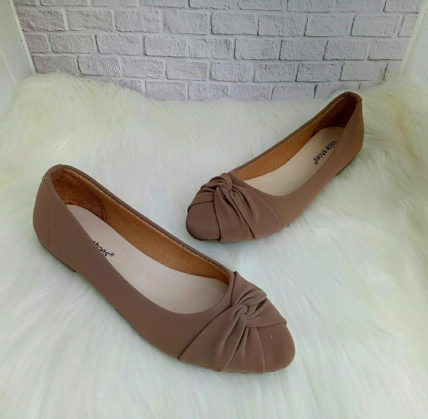 Jual Sepatu Balet Cantik Berkualitas | Lazada.co.id -. Source · FSP04 Flatshoes wanita korea Pita ...