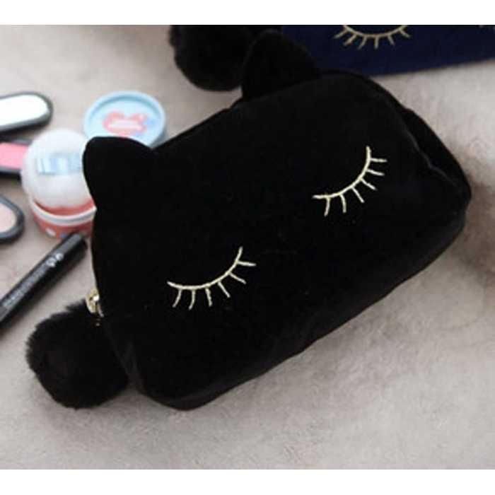 tas tangan mata kucing lucu / cute kitty bag clutch purse BTA020