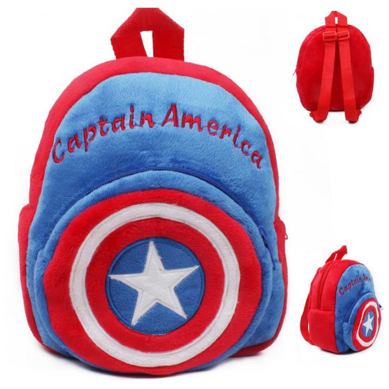Tas pria selempang/Tas pria import/Tas pria ransel/Tas pria laptop/Tas pria eiger/Tas pria distro/Tas pria keren/Tas pria kecil/Tas pria murah Tas Sekolah Anak Karakter Kartun Captain America