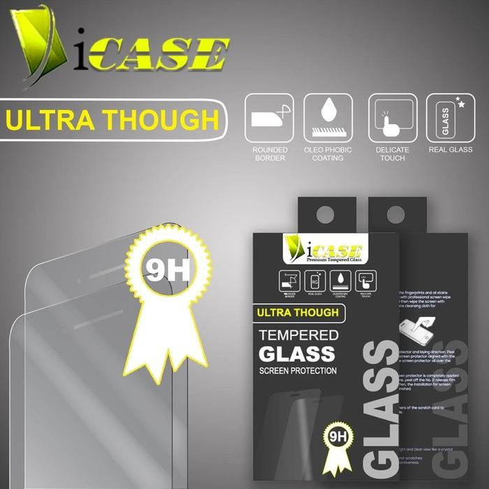 LG K10 Tempered Glass Bening Screan Guard Protection Icase