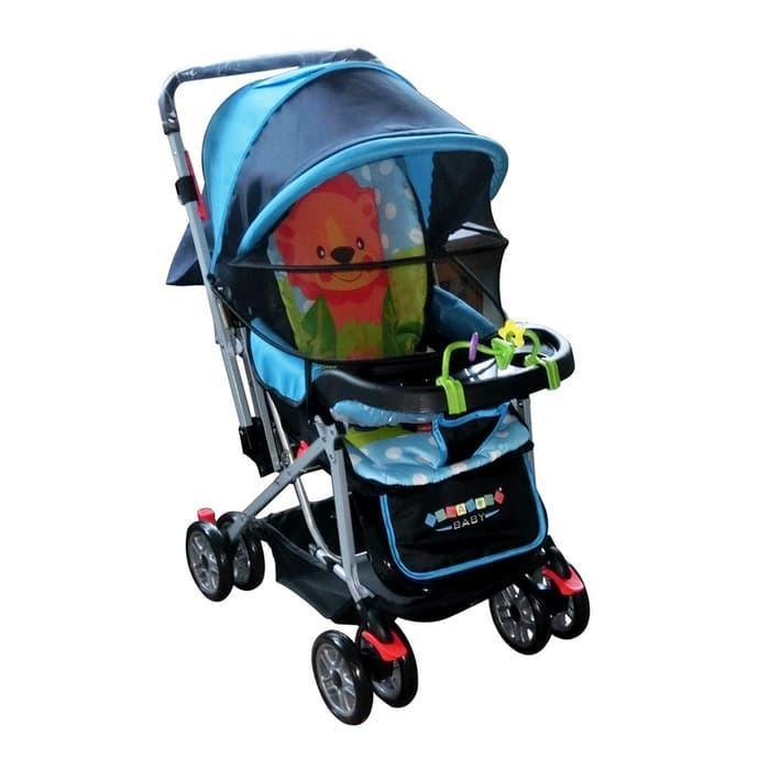 Stroller Bayi Murah Creative 218 Bisa Dorong Depan Belakang By Junior Baby Shop1.