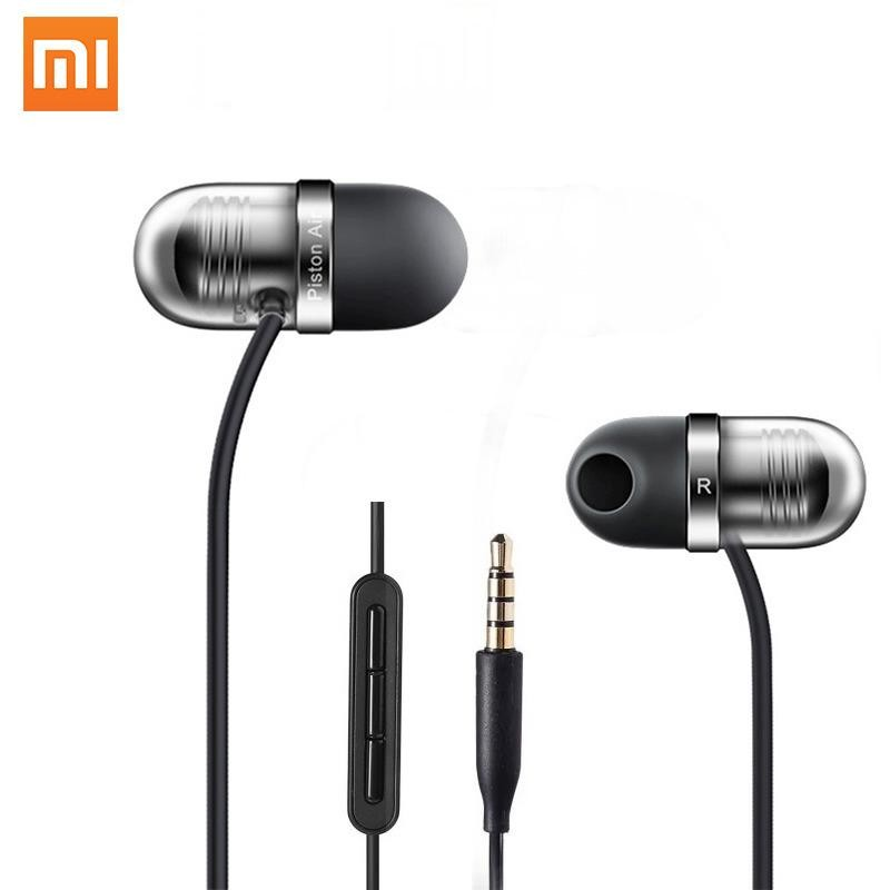 Original Xiaomi Earphone Capsule Headphone Piston Earbuds Air Mi Headset With Microphone For Iphone Xiaomi Samsung Oppo Huawei Vivo Phone