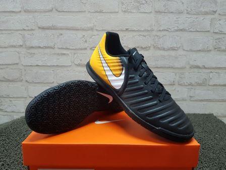 Sepatu Futsal Original Nike TIEMPOX RIO IV IC Black 897769008. BNIB