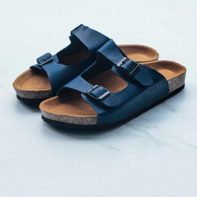 Sandal Arizona Biru Premium DISCOUNT!!!