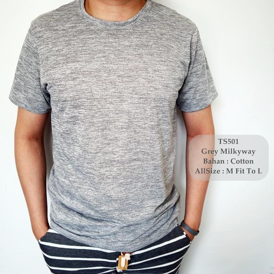 Rp 37.000. GFS 501 T-Shirt Polos Cowok Keren / Kaos Distro Pria / Kaos Oblong ...