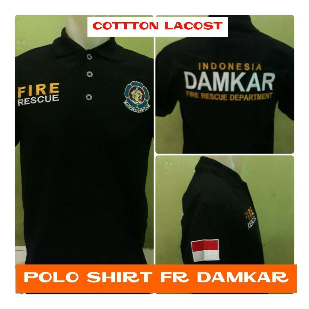 Kaos polo shirt DAMKAR pemadam kebakaran di lapak Fashion depok bahrudin_tanjung
