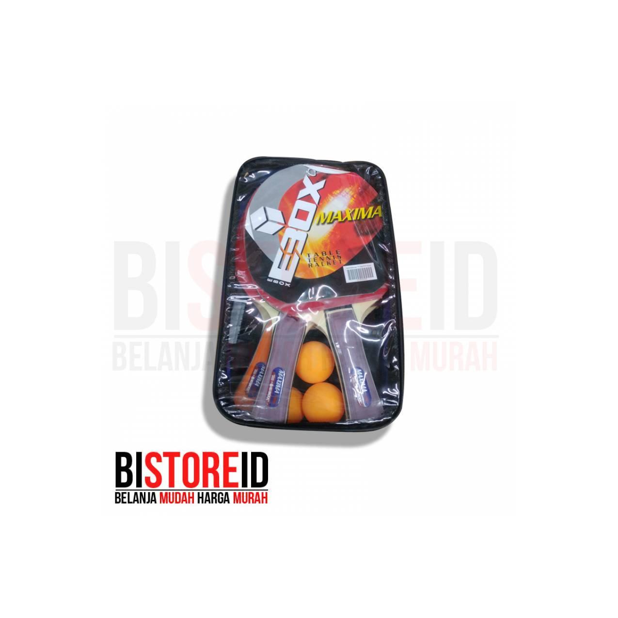Promo mantap Raket Tenis Meja Pingpong Ebox isi 4 set