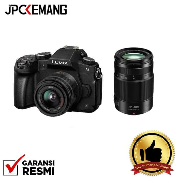 Panasonic Lumix DMC-G85 kit 14-42mm f/3.5-5.6 II + Panasonic 35-100mm jpckemang