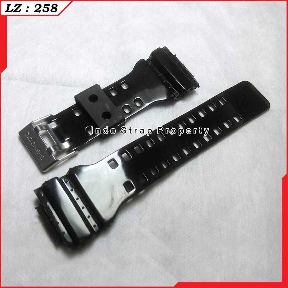 Casio G Shock Pria Hitam Damar Tali Jam Ga 1 100 9 Review Harga Gd X6900cm 5 Cokelat Loreng Black Glossy Mengkilap