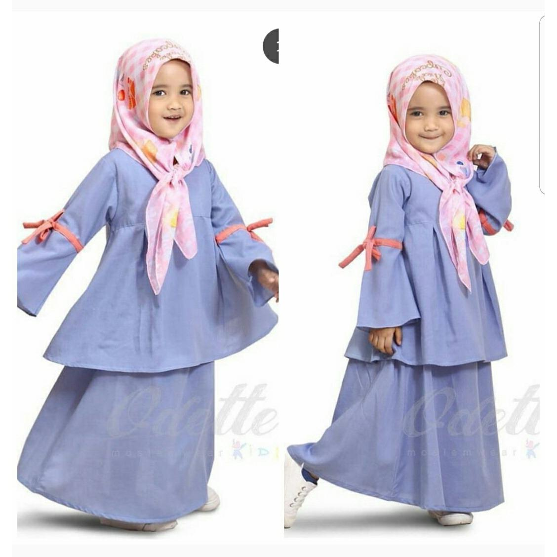 INTENDS AG/DRes muslim anak perempuan/Fashion muslim/Yura set