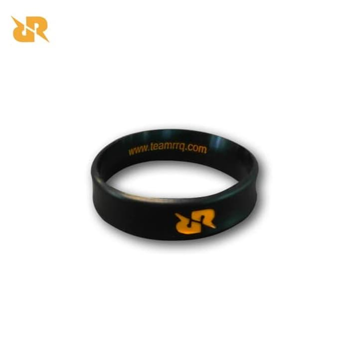 NEW Design Gelang Rubber Team RRQ BLACK