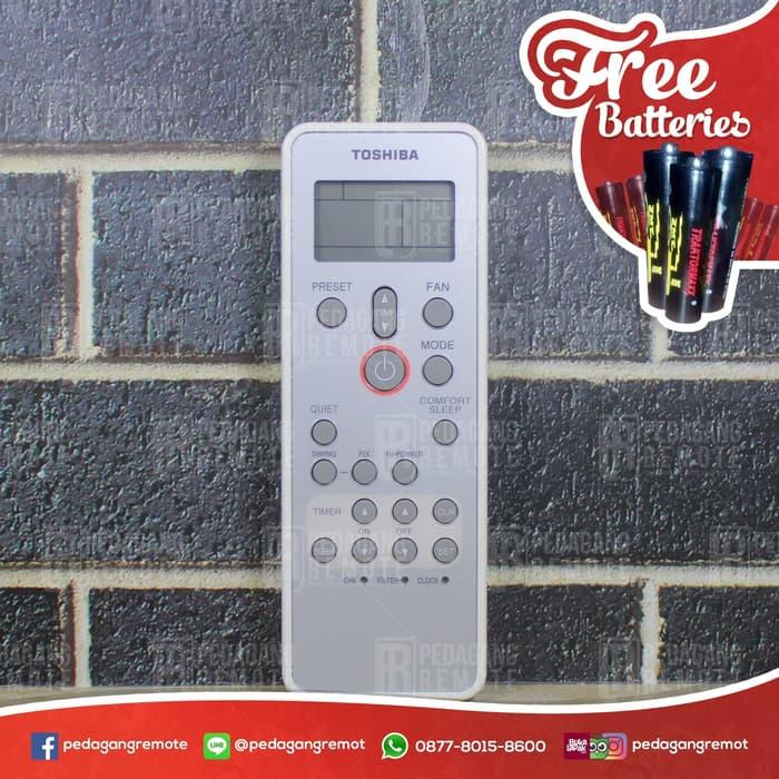 Terlaris Remot Remote AC Toshiba WH-L11SE Ori / Original / Asli Lagi Diskon