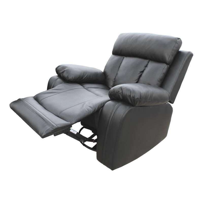 JYSK Sofa Recliner 1Seater Zeus 106X99X100Cm BLACK - Free Delivery Khusus Jakarta