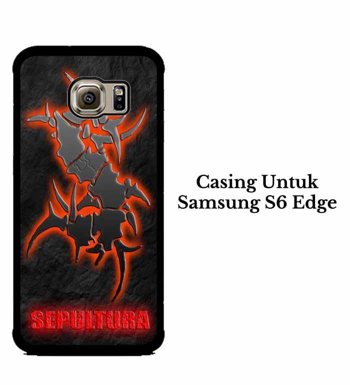 Casing SAMSUNG S6 EDGE sepultura Hardcase Custom Case Se7enstores