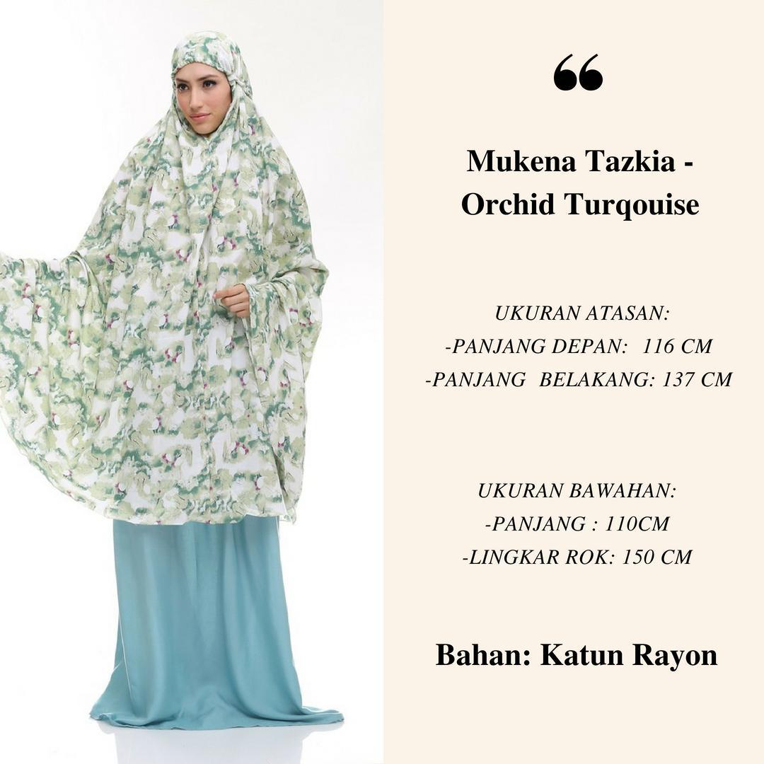 Katalog Mukena Tazkia Termurah Rayon Jolly Flower Pink Orchid Series