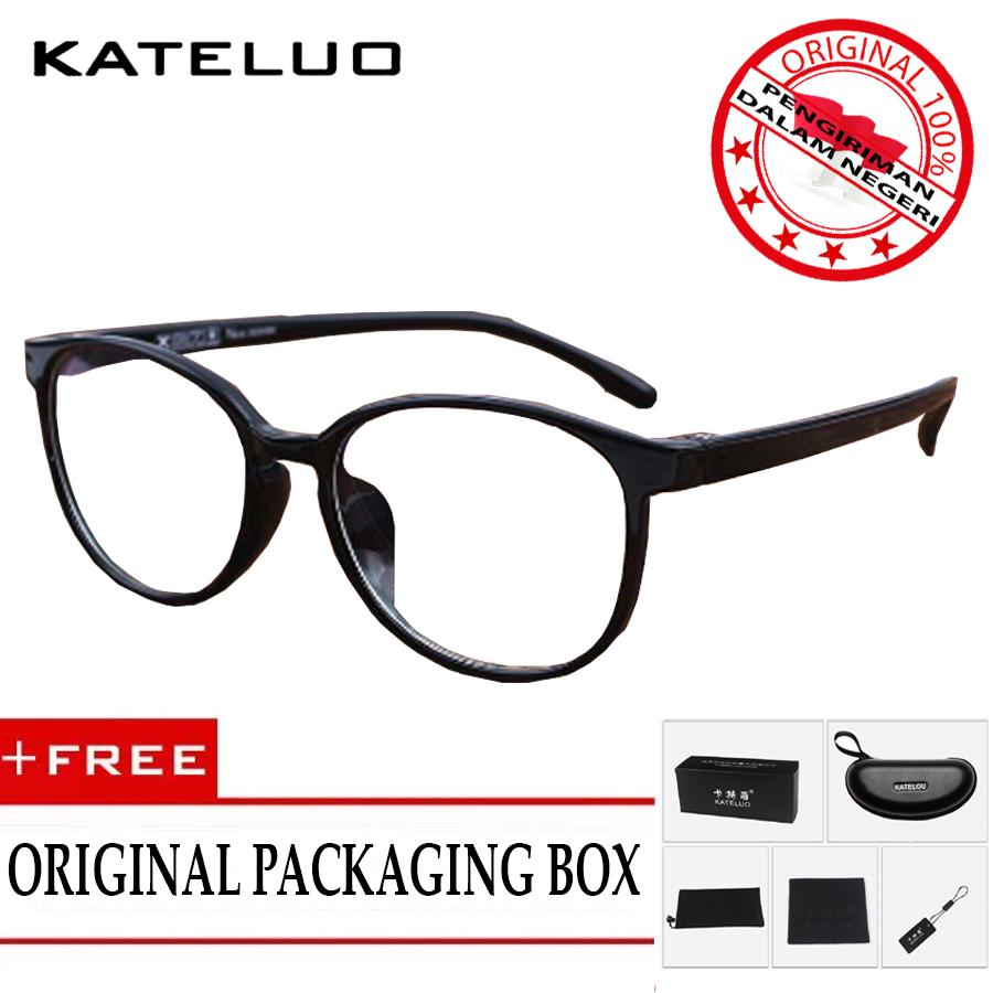 KATELUO 9930 Kacamata Anti Radiasi Komputer TR90 Pria Wanita Frame Original - Korean Fashion Style