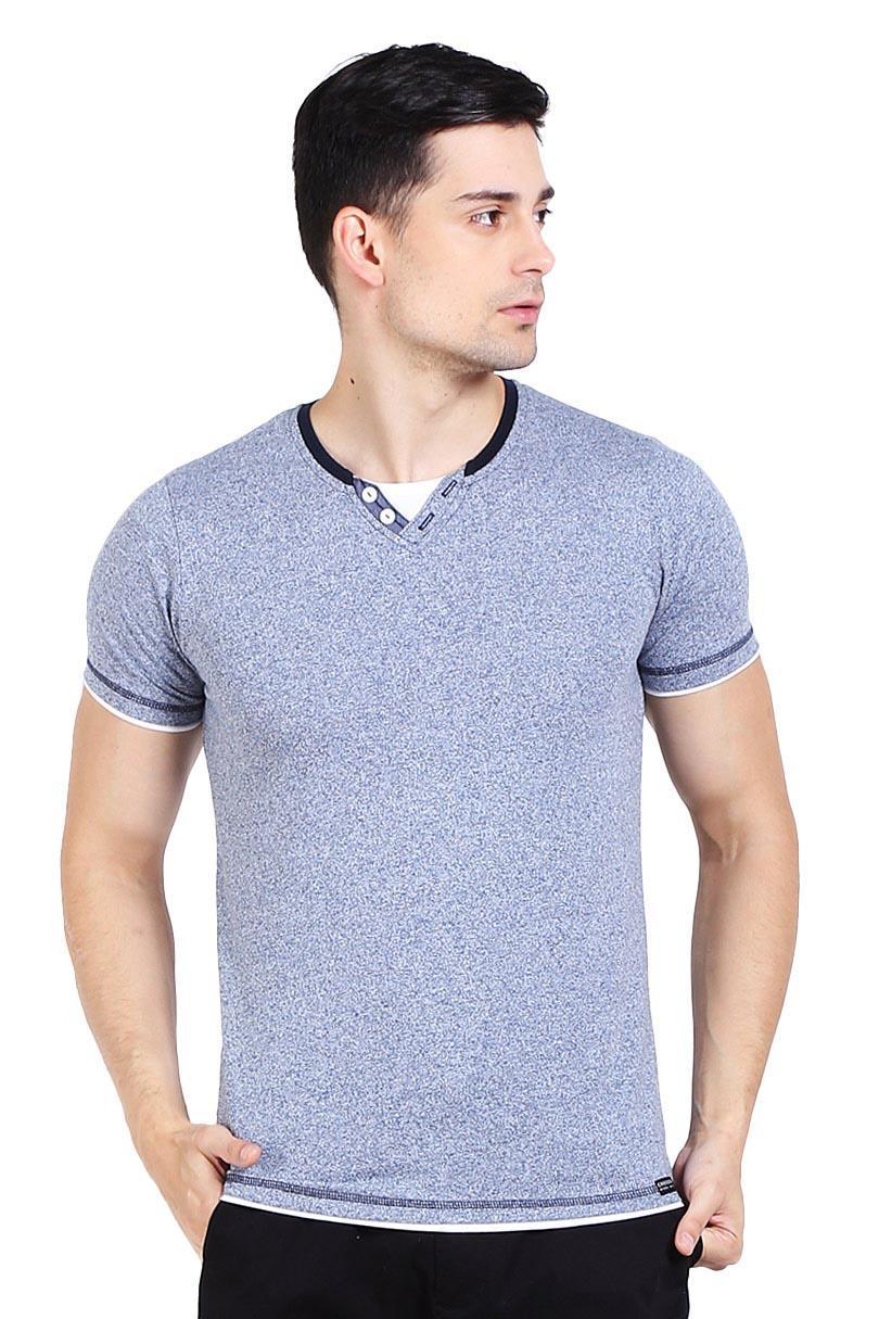 Cressida T-Shirt Kaos Pria Basic J285 Tee Blue