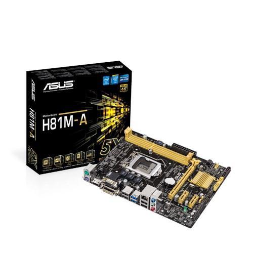 Asus Motherboard H81M A LGA1150