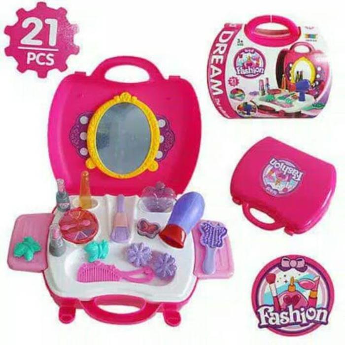 Mainan Anak Dream Fashion Kit Koper - Z9smpl By Amanda Collections.