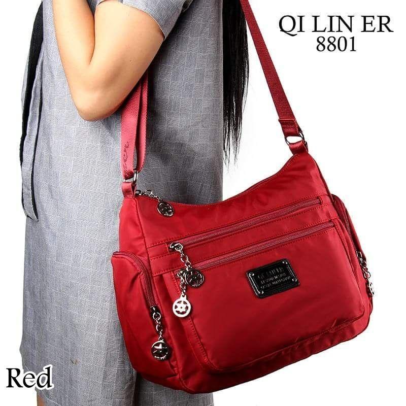 Selempang Qi Lin Er 8801 Fashion Tas Wanita Tas Import Tas Cewek Bag Import Ransel Branded Kualitas Premium