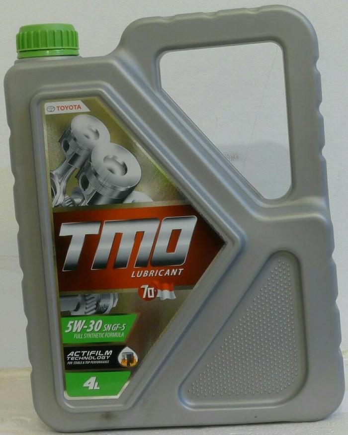 Olie Mobil Toyota TMO SAE 5w30 kemasan galon