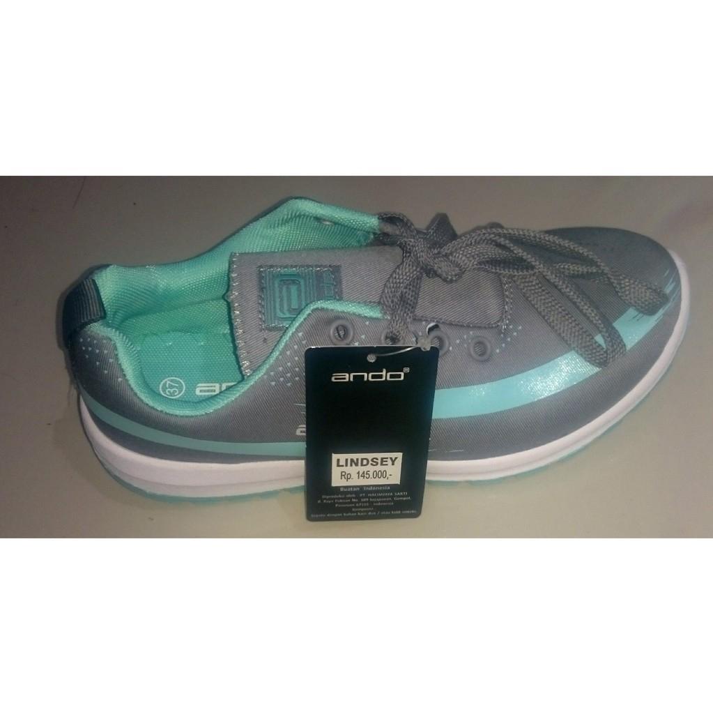 Ando Lindsey Sepatu Olahraga Wanita Sepatu Lari Dengan 2 Pilihan Warna
