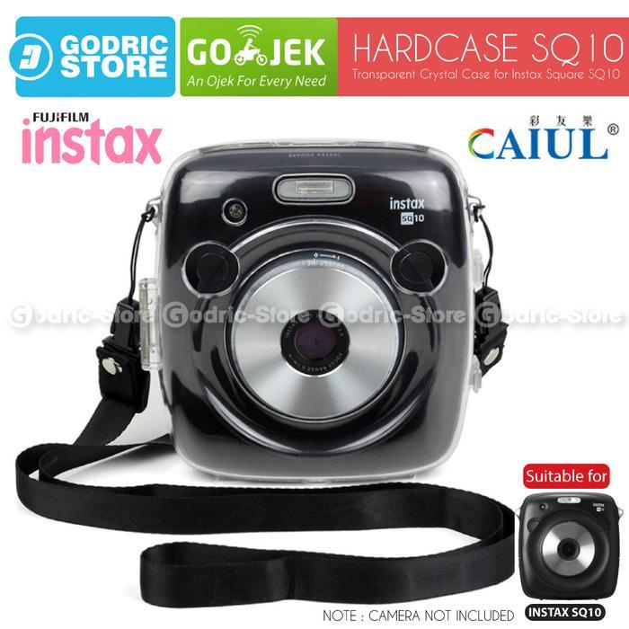 Fujifilm Hardcase SQ10 Polaroid Case Instax SQUARE SQ 10 Casing Bening