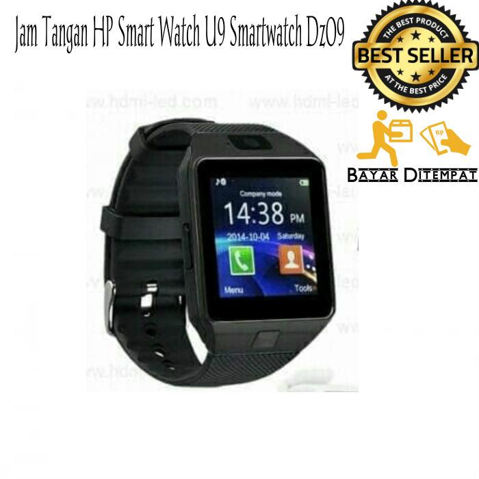 Jam Tangan HP Smart Watch U9 Smartwatch Dz09 SIM Card
