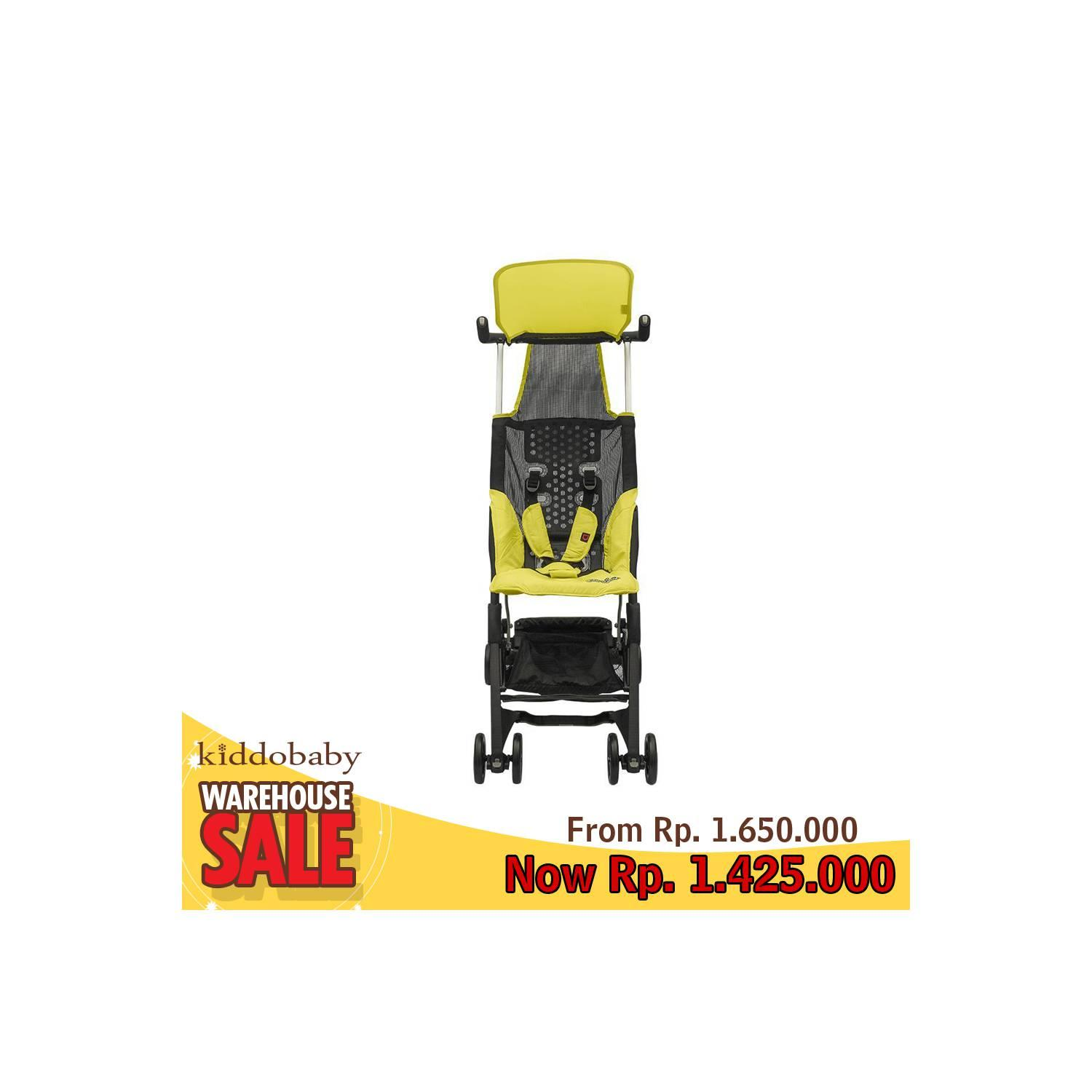 Buy Sell Cheapest Sale Cocolatte Pockit Best Quality Product Deals Pockitkereta Bayi Stroller Cl 688 689 Yellow Backpack