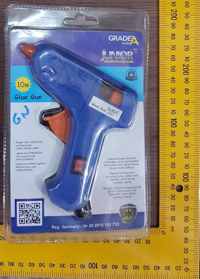 Alat Lem Tembak 10 Watt glue gun bakar Tmbl On OFF Junior mrp Prohex