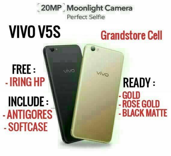VIVO V5S RAM 4/64 GB GARANSI RESMI VIVO INDONESIA / handphone / hp /