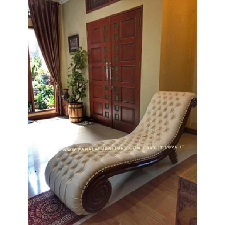 Sofa Santai Snail Keong (Kursi Santai, Sofa Jati, Kursi Jati) Terbaru
