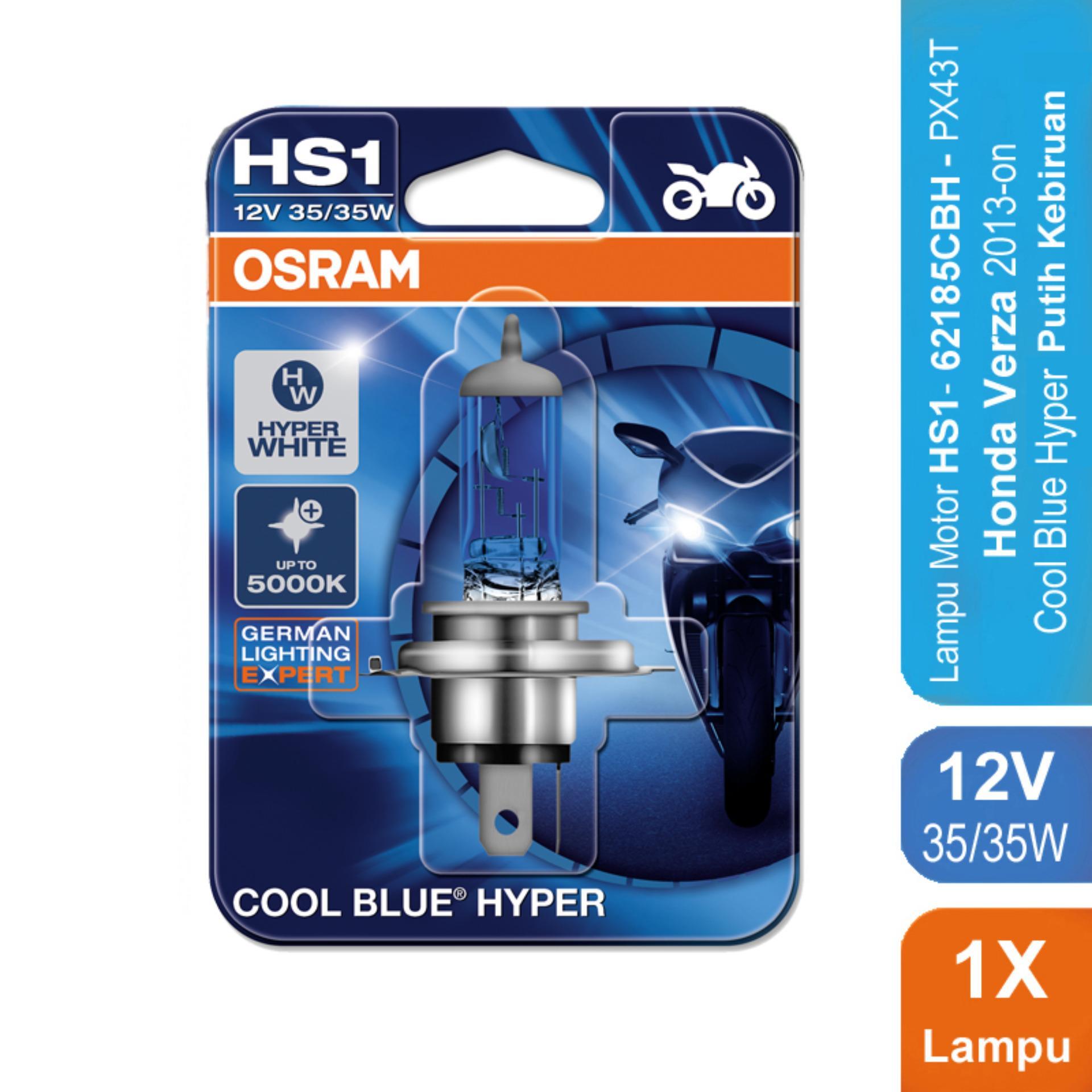 Osram Lampu Motor Honda Verza 2013-on - HS1 62185CBH 12V 35/35 - Cool Blue Hyper