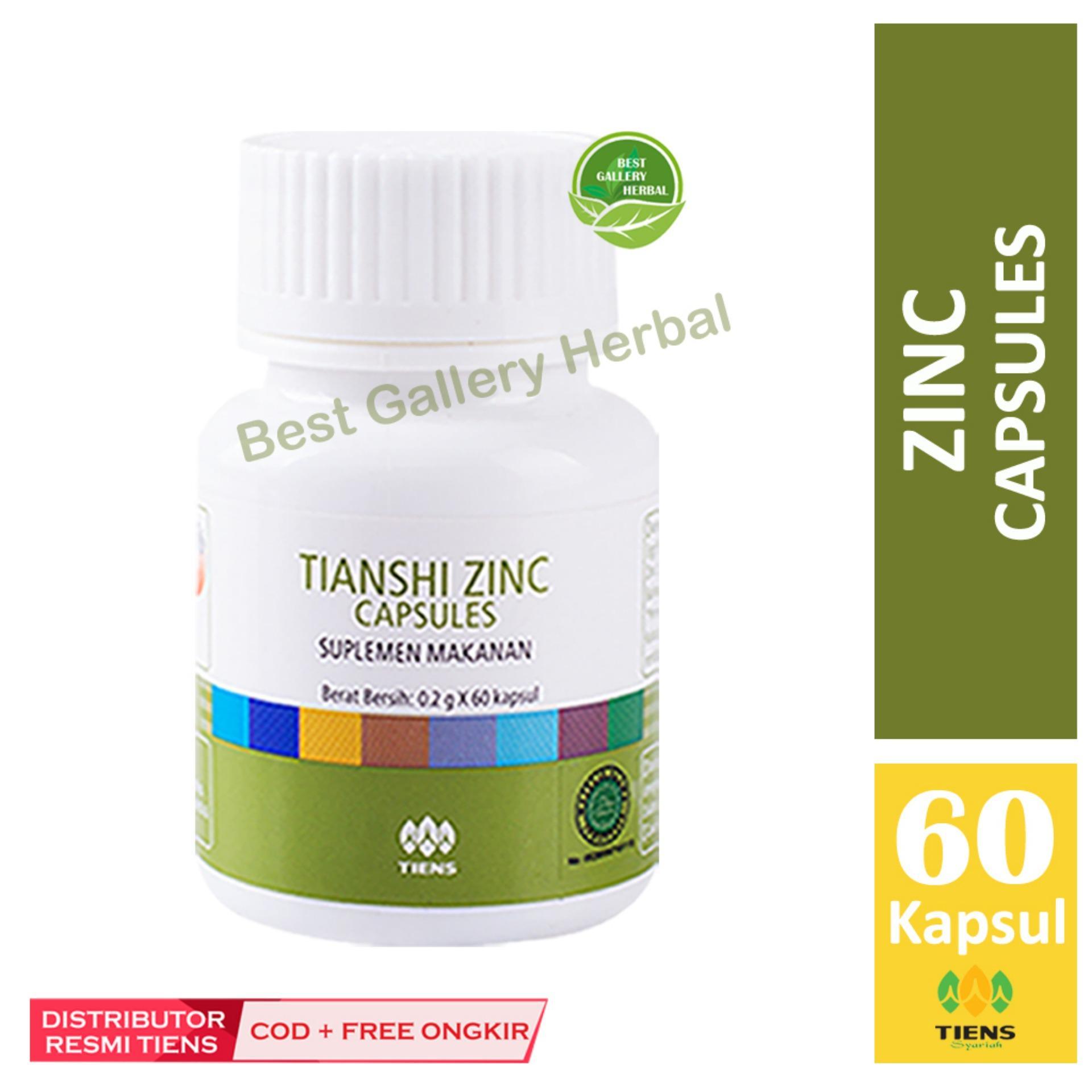 Buy Sell Cheapest Original Tiens Promo Best Quality Product Deals Paket Penggemuk Badan Zinc Capsules Tianshi Nafsu Makan Anak Bisa Cod
