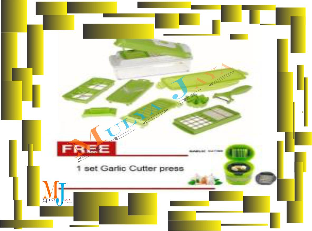 Buy Sell Cheapest Nicer Dicer Set Best Quality Product Deals Plus Pemotong Serba Guna Mjstore High Grade A Hijau Free 1
