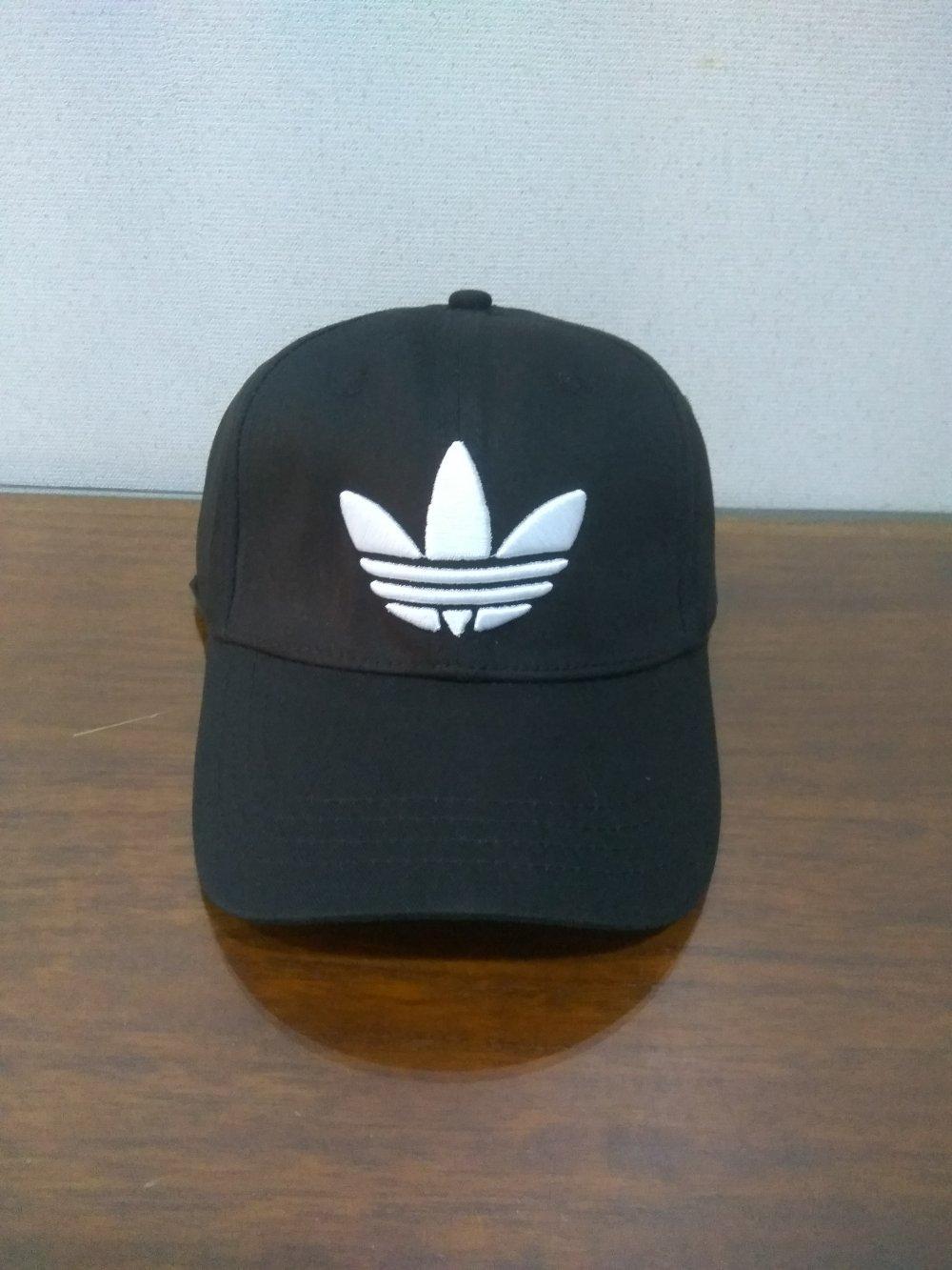 Topi Adidas Distro Baseball Import - Black  di lapak Topi KanBaru topikanbaru