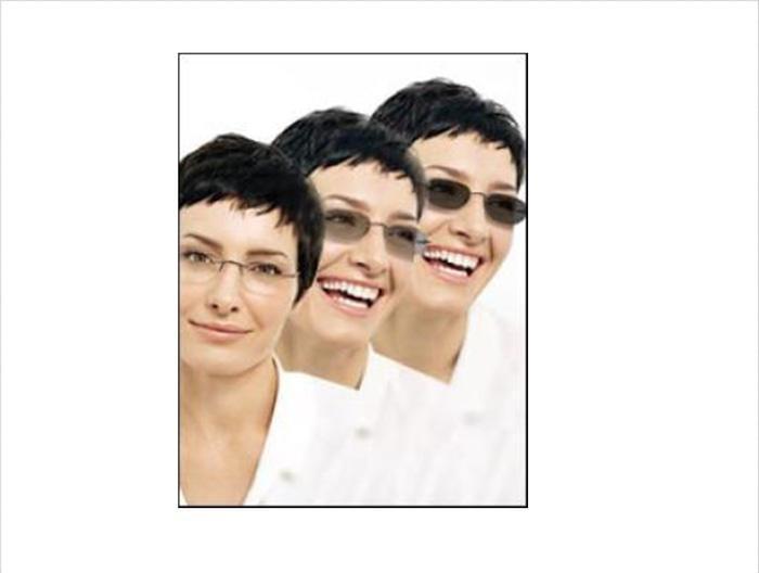 Lensa Kacamata Automatis untuk Minus ( Lensa Photogrey )