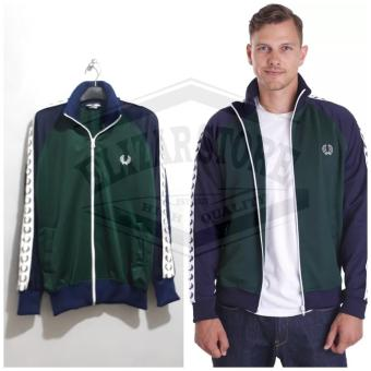 Harga preferensial Jaket Tracktop Casual  jaket pria casual ttfp GREEN NVY  terbaik murah - 7459d231c1